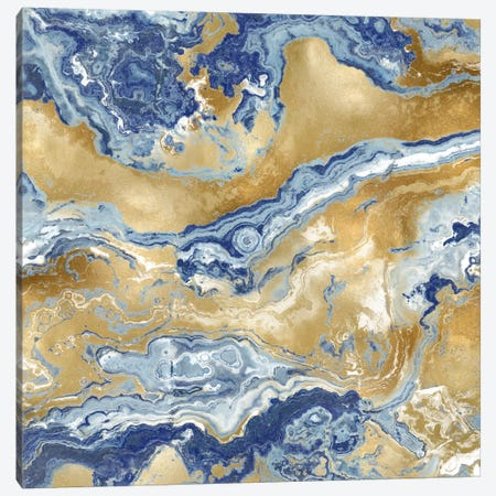 Onyx Royal Canvas Print #DAC73} by Danielle Carson Canvas Art