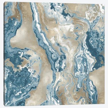 Onyx Teal Canvas Print #DAC75} by Danielle Carson Canvas Art Print
