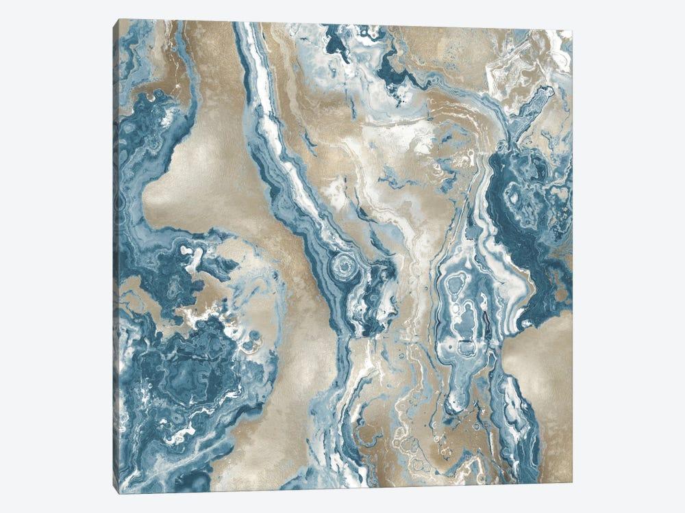 Onyx Teal by Danielle Carson 1-piece Art Print