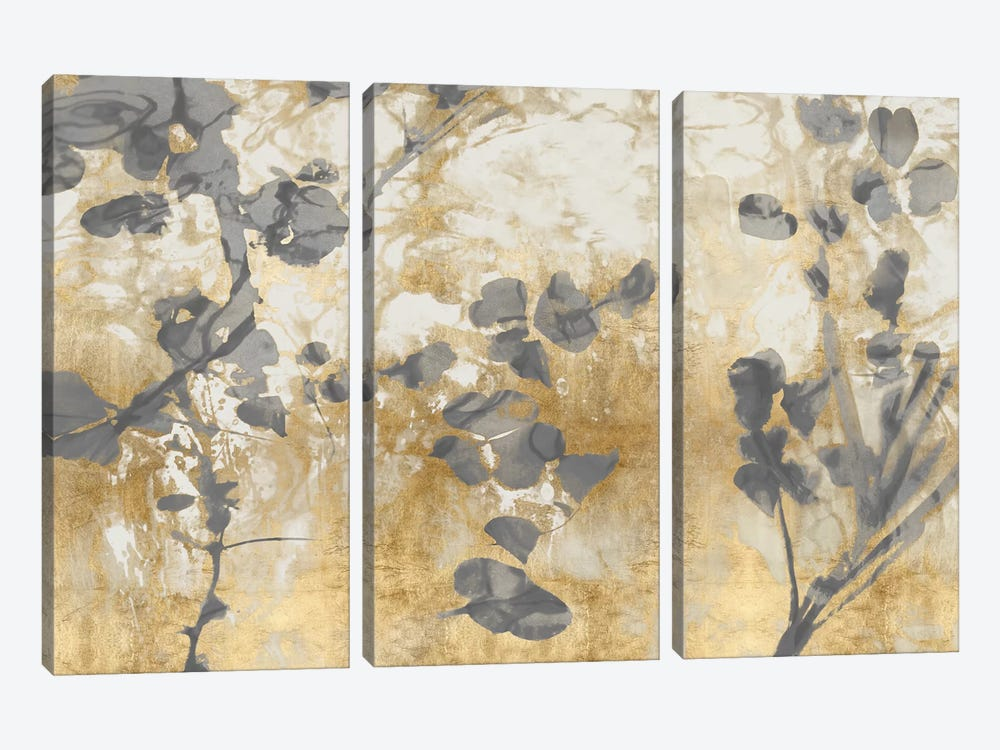 Nature's Way IV by Danielle Carson 3-piece Canvas Wall Art