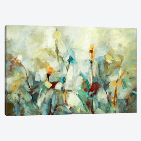 Ode To Monet V 3-Piece Canvas #DAG39} by DAG, Inc. Canvas Artwork