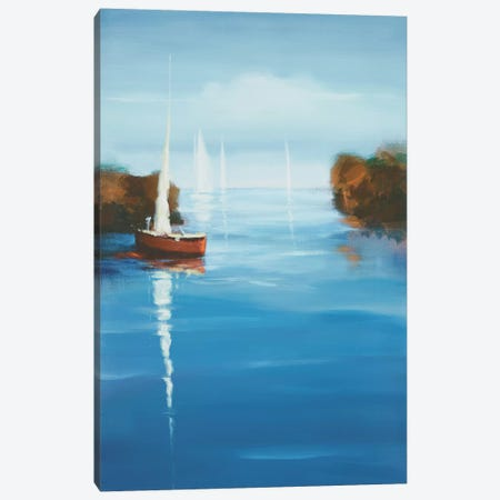 Set Sail X Canvas Print #DAG50} by DAG, Inc. Canvas Art