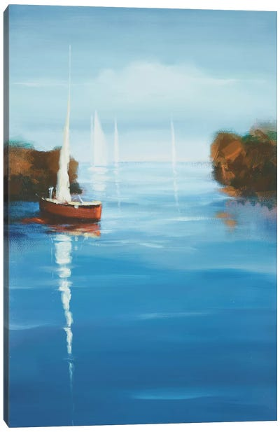 Set Sail X Canvas Art Print