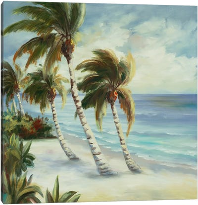Tropical IV Canvas Art Print