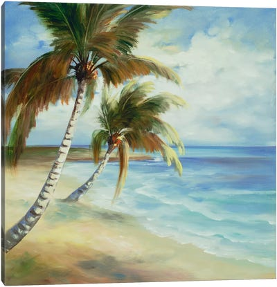 Tropical V Canvas Art Print