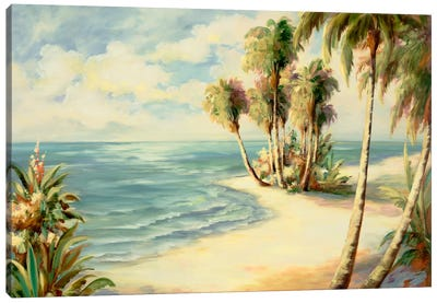 Tropical VIII Canvas Art Print