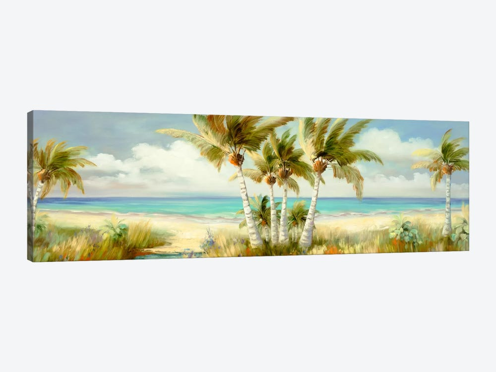 Tropical XII 1-piece Canvas Art Print