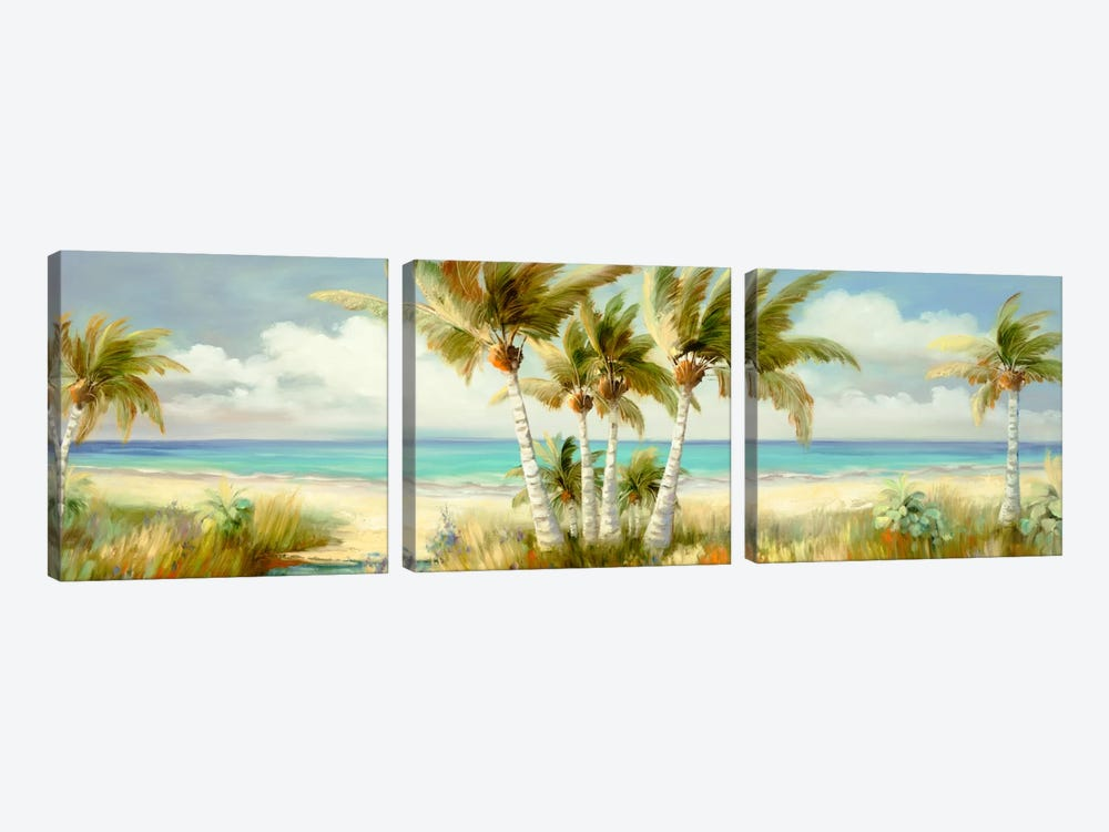 Tropical XII 3-piece Canvas Art Print