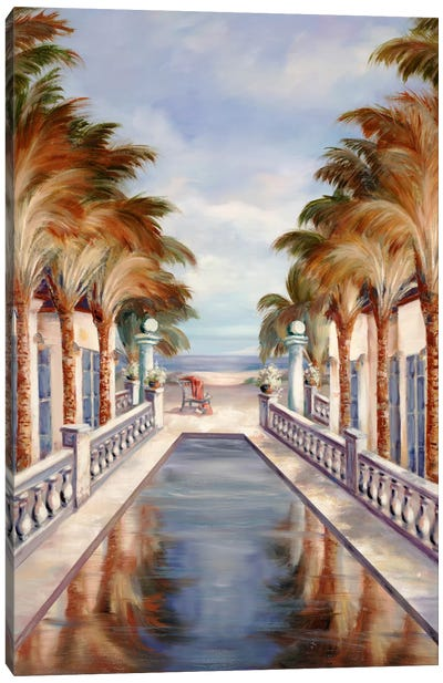 Tropical XIV Canvas Art Print