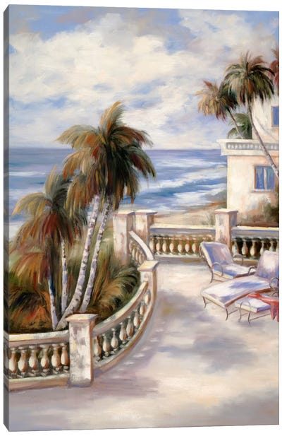 Tropical XVI Canvas Art Print