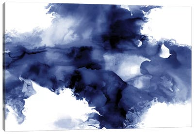 Derive In Indigo I Canvas Art Print