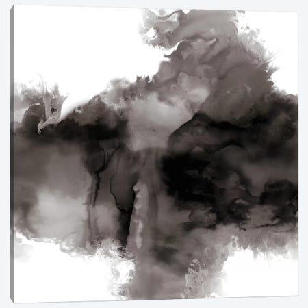 Derive Noir I Canvas Print #DAH12} by Daniela Hudson Art Print