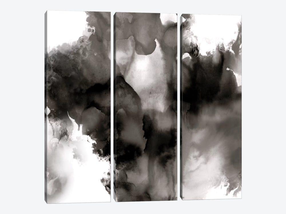 Derive Noir II by Daniela Hudson 3-piece Canvas Art