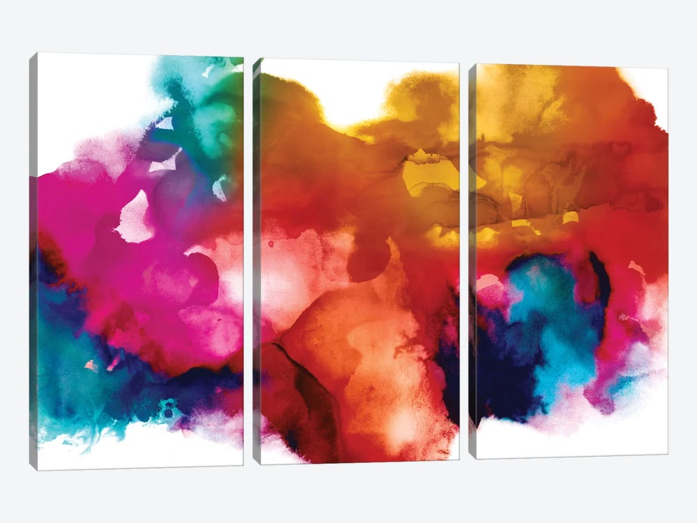 Transform I by Daniela Hudson 3-piece Canvas Art