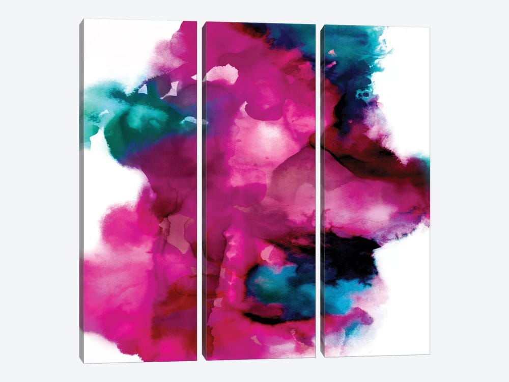 Transform II by Daniela Hudson 3-piece Canvas Art Print
