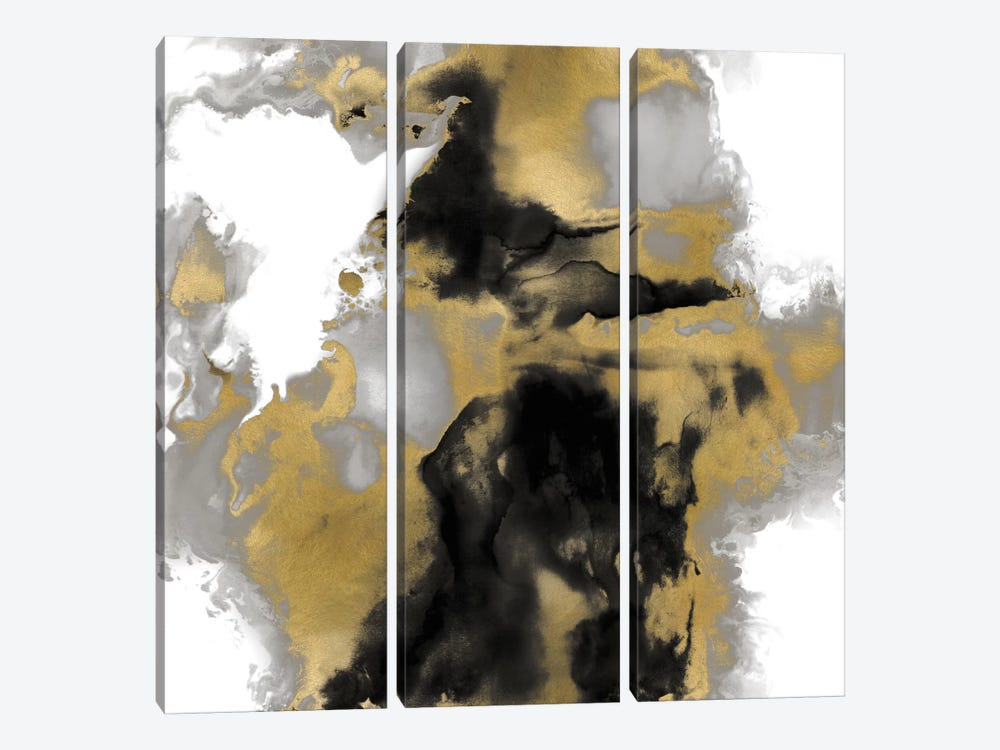 Transpire I by Daniela Hudson 3-piece Canvas Print