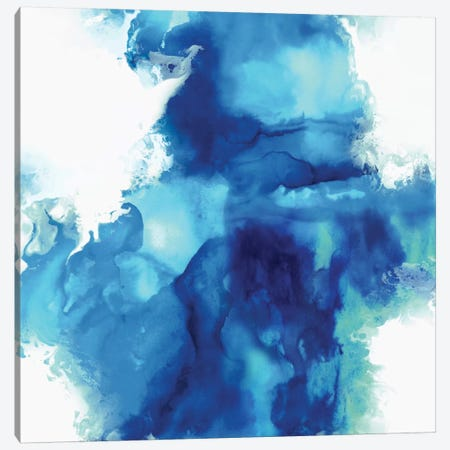 Ascending In Blue I Canvas Print #DAH2} by Daniela Hudson Canvas Art Print