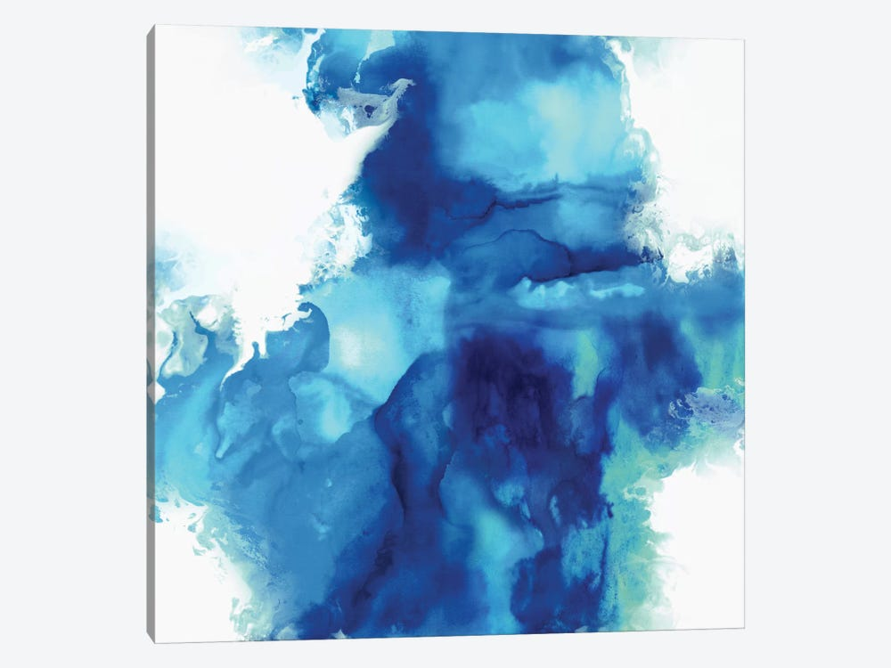 Ascending In Blue I by Daniela Hudson 1-piece Canvas Artwork