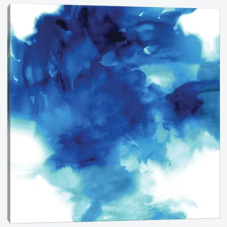 Ascending In Blue II Canvas Print #DAH3} by Daniela Hudson Canvas Art Print