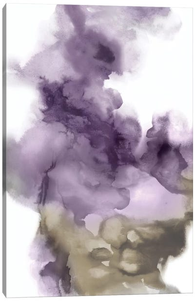 Derive In Amethyst I Canvas Art Print