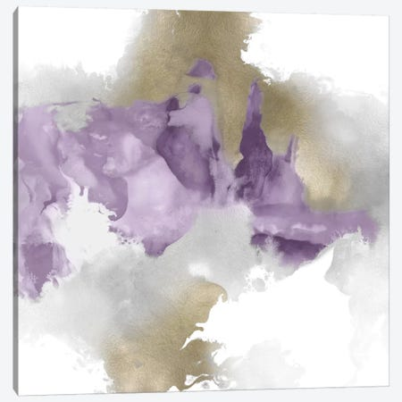 Derive In Amethyst II Canvas Print #DAH7} by Daniela Hudson Canvas Wall Art