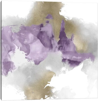 Derive In Amethyst II Canvas Art Print