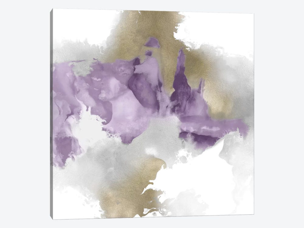 Derive In Amethyst II by Daniela Hudson 1-piece Art Print