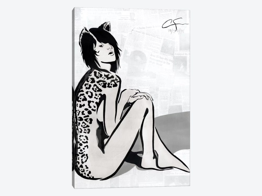 La Gata by Dakota Dean 1-piece Canvas Art Print