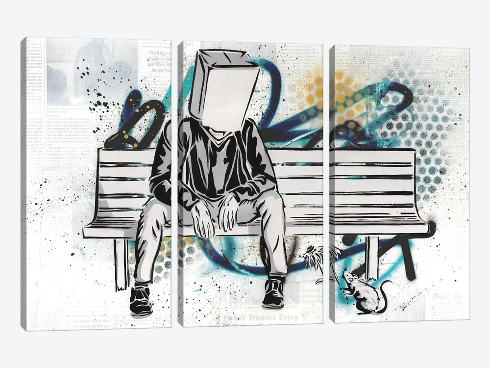 The Nameless 3-piece Canvas Art