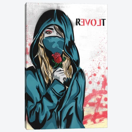 Revolt Canvas Print #DAK20} by Dakota Dean Canvas Print