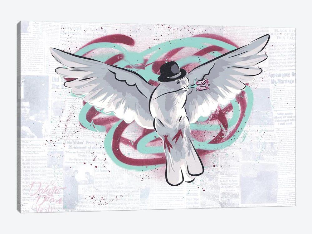 Mr. Dove by Dakota Dean 1-piece Canvas Art Print