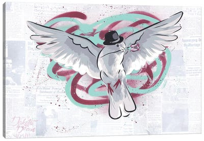 Mr. Dove Canvas Art Print
