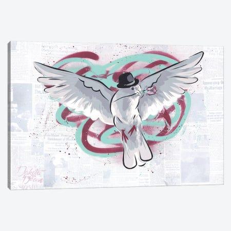 Mr. Dove Canvas Print #DAK23} by Dakota Dean Art Print