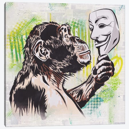 (R)evolution Canvas Print #DAK26} by Dakota Dean Canvas Art