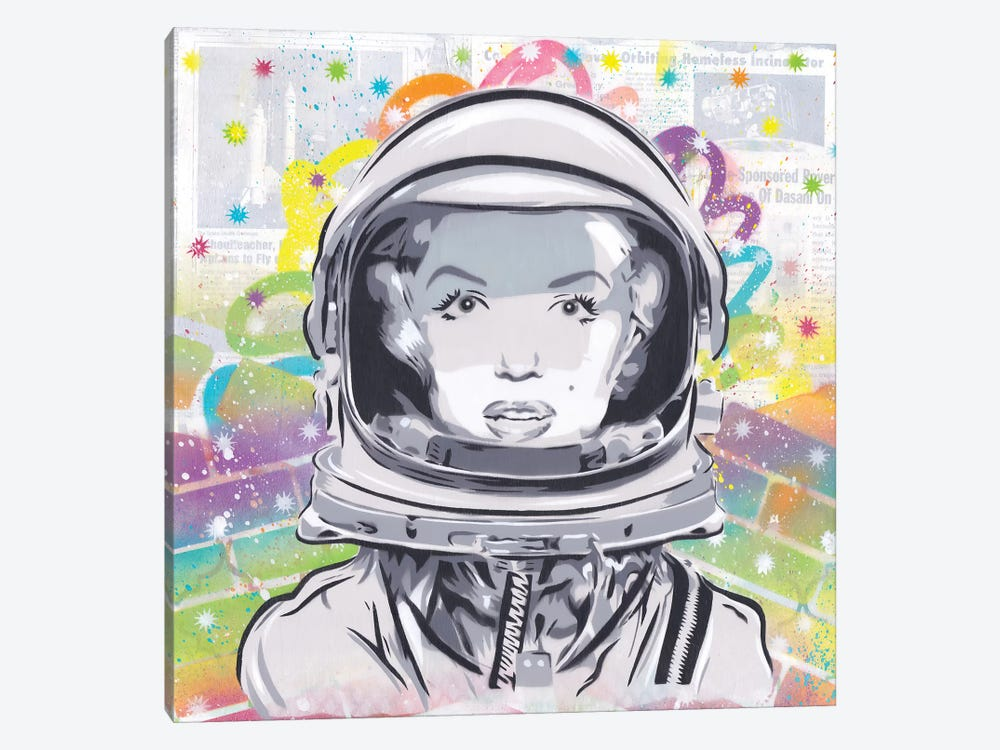 Astro Monroe by Dakota Dean 1-piece Art Print