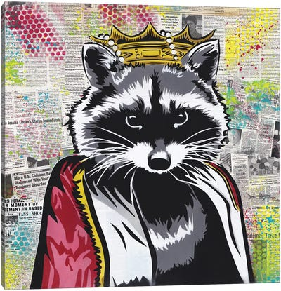 King Of The Streets Canvas Art Print