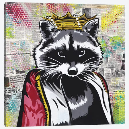 King Of The Streets Canvas Print #DAK32} by Dakota Dean Canvas Art