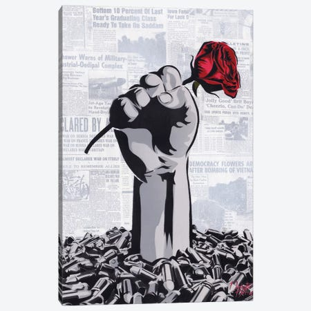 Perseverance Canvas Print #DAK36} by Dakota Dean Art Print