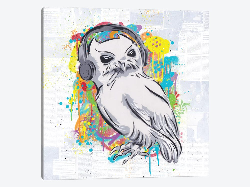 The Bird by Dakota Dean 1-piece Canvas Wall Art
