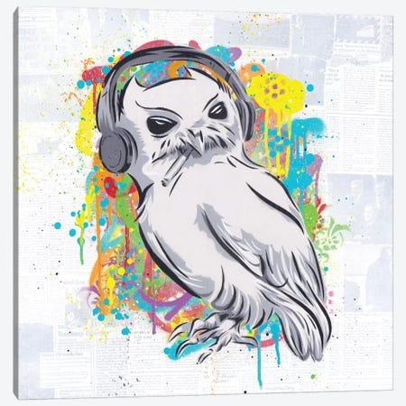The Bird Canvas Print #DAK39} by Dakota Dean Canvas Wall Art