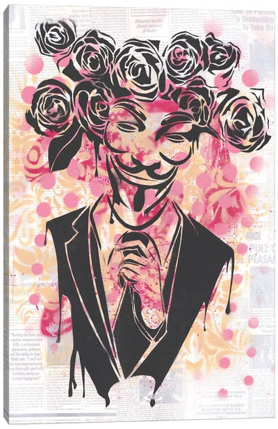 Anonymous II Canvas Art Print