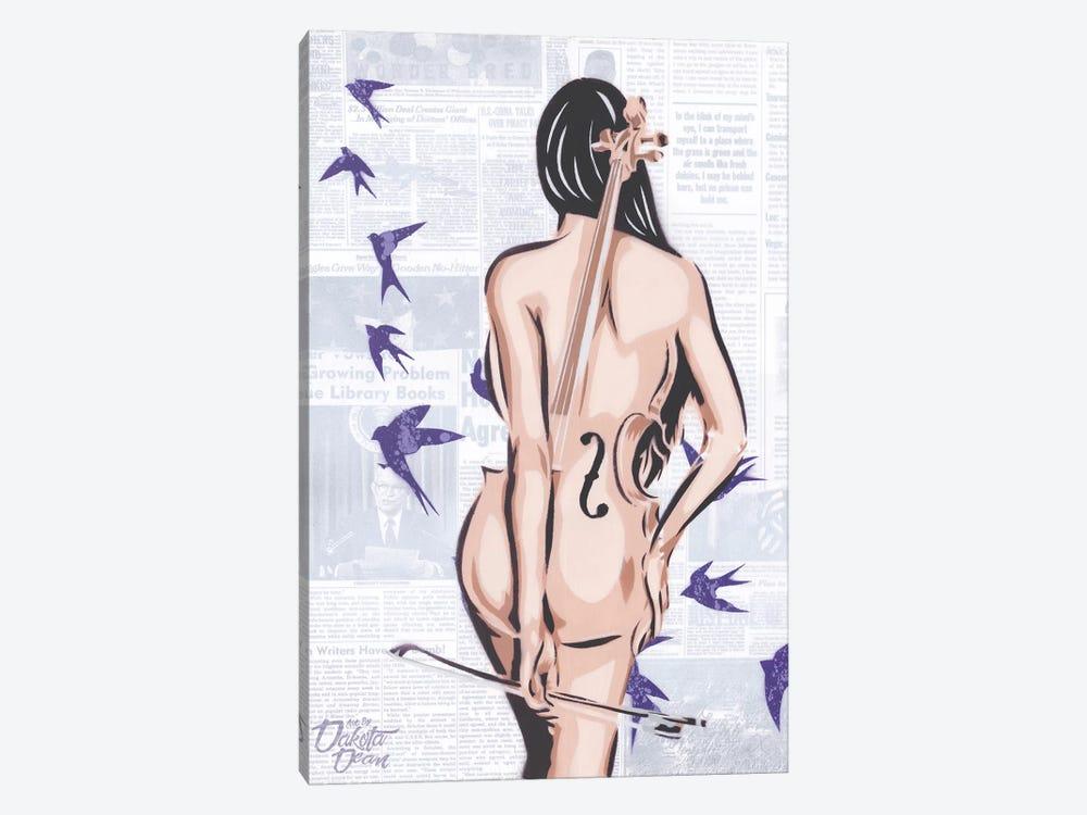 Cello by Dakota Dean 1-piece Art Print