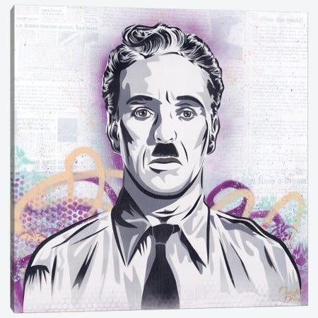 Chaplin - The Great Dictator Canvas Print #DAK48} by Dakota Dean Canvas Print