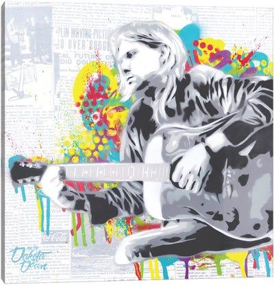 Cobain Canvas Art Print