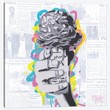 RX Cone Canvas Print #DAK50} by Dakota Dean Canvas Artwork