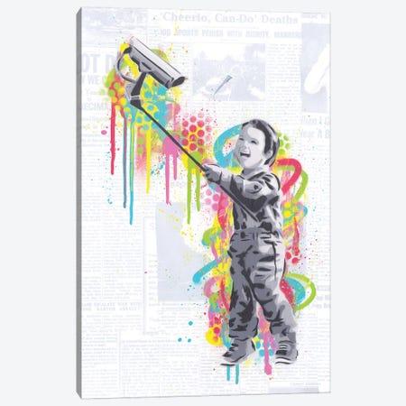 Selfie Canvas Print #DAK54} by Dakota Dean Canvas Art Print
