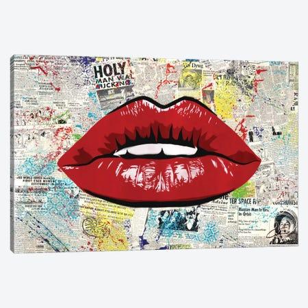 First Kiss Canvas Print #DAK9} by Dakota Dean Canvas Artwork
