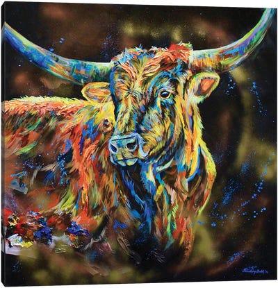 The Boss Canvas Art Print