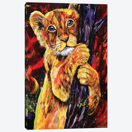 Tree Hugger Canvas Print #DAL104} by Lindsey Dahl Art Print