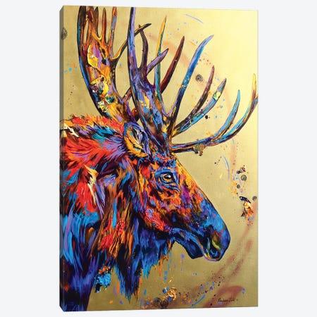 Velvet No Mo Canvas Print #DAL109} by Lindsey Dahl Canvas Wall Art